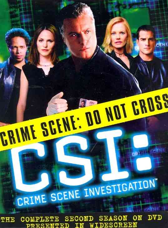 CSI:COMPLETE SECOND SEASON BY CSI: CRIME SCENE INV (DVD)